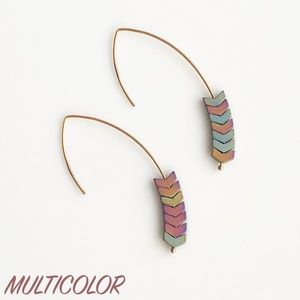 "Jewelry - NEW ""Merida"" Stone Earrings (multicolor)"
